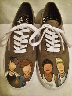 57322b2d7a Customizeable 5SOS Shoes. Second Of SummerSummer ...
