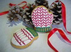Christmas cookies #cookies #Christmas #gloves #cute