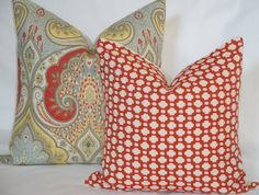 Kravet Latika In Festival Decorative Pillow by TeaOliveLiving