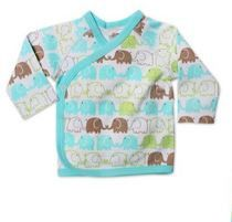 ZUTANO Itzy Bitzy Kimono Top - Elephants