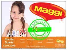 Cecília Duarte para Maggi.