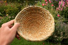 Basic Coil Basketry Tutorial