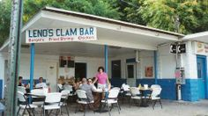 The sign may say Leno's Clam Bar, but it's universally known as Greasy Nick's.