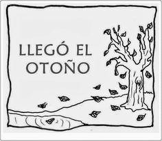 """Album de Picassa sobre """"El otoño"""", de La Eduteca, conteniendo materiales gráficos y escritos para su utilización en Educación Infantil."""