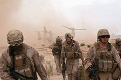 Marines in Combat | Marines with Combat Logistics Battalion 8 (CLB-8), 2nd Marine ...