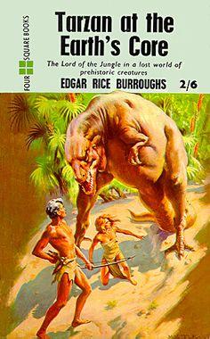 Title: Tarzan at the Earth's Core