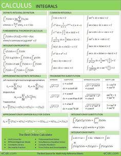 RS Calculus Integrals #calculus