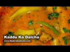 Kaddu Ka Dalcha Recipe Video Bottle Gourd Mutton Curry Easy Healthy Cooking