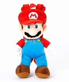 Loving this Mario Plush Backpack on #zulily! #zulilyfinds