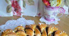 A blog indulása körüli időben készítettem már sós változatban és azóta terveztem az ismétlést édes kiadásban. Most egy kicsit verem a feje... Sushi, Muffin, Japanese, Breakfast, Ethnic Recipes, Blog, Yogurt, Breakfast Cafe, Muffins