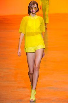 Cacharel Spring 2011 Ready-to-Wear Fashion Show - Kristina Romanova (WOMEN)