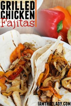 Have you ever made Grilled Chicken Fajitas? I mean, where you grill literally EVERY ingredient? This is the BEST way to do it and this recipe has the spice rub and everything!