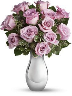 Teleflora's Roses and Moonlight Bouquet # Norma Esrtrada