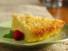 Just had this & WOW...if you love coconut custard, try this, easy & I think even better cold!