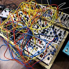 Modular Synth photo by richarddevine