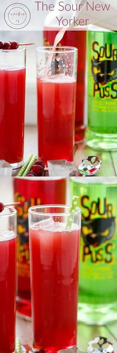 The Sour New Yorker   http://thecookiewriter.com   @thecookiewriter   #drink