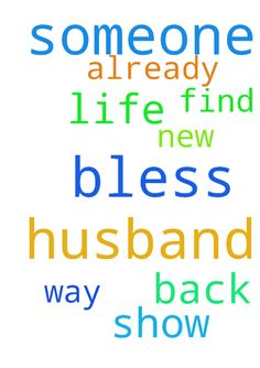 Lord, I pray you will bless me with a husband. If it's - Lord, I pray you will bless me with a husband. If it's someone who was in my life once already, show him the way back to me. If it is someone new, help him find me please! Posted at: https://prayerrequest.com/t/gsE #pray #prayer #request #prayerrequest