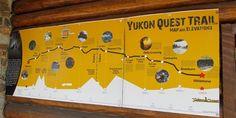 Yukon Quest Yukon Quest, Trail Maps, Canada, Dance Floors