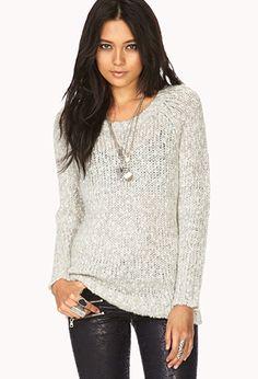 Cozy Open-Knit Sweater