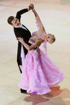 US and World Standard Ballroom Champions Arunas Bizokas and Katusha Demidova
