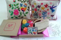 Pack de bordado, de Tienda Caradonti.