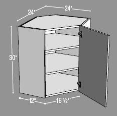 Kitchen Cabinets Building Plans ana white | build a wall kitchen corner cabinet | free and easy
