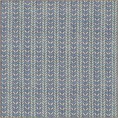 Kess InHouse Pom Graphic Design Otomi Folk Birds Black Teal Illustration 51 x 60 Wall Tapestry