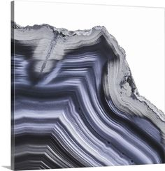 size: Premium Photographic Print: Grey Agate C by THE Studio : Wall Art Prints, Canvas Prints, Big Canvas, Orange House, Patterns In Nature, The Fresh, Primary Colors, Agate, Indigo