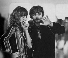 Mikhail Baryshnikov and Elena Tchernishova during a rehearsal of 'Don Quixote', 1977. 'Don Quixote' was the second Baryshnikov's production as choreographer.