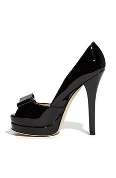 Fendi 'Deco' Bow Trim Pump, 3 3/4'' heel