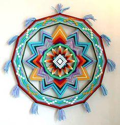 Eye of the god mandala artwork - Jay Mohler