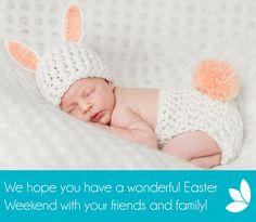 Happy Easter from everyone at Fertility Match! We're wishing you a wonderful weekend with your friends and family! 🐰