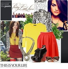 """""""Pretty Little Liars Aria Montgomery Inspired"""" by littlemissgirl-123 ❤ liked on Polyvore"""