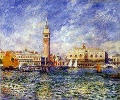 Pierre-Auguste Renoir: Doges' Palace, Venice - Auguste Renoir Gallery