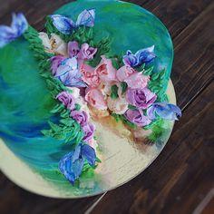 Когда в душе весна рождаются такие тортики