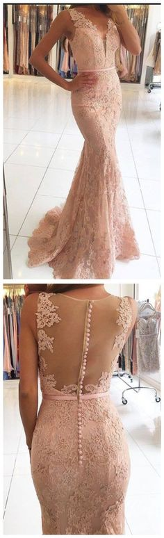 Elegant Prom Dress,Lace Prom Dress,Mermaid Prom Dress,Long Prom #prom #promdress #dress #eveningdress #evening #fashion #love #shopping #art #dress #women #mermaid #SEXY #SexyGirl #PromDresses