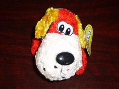 Cute Colours Little Dog Puppy Soft Toy Doggie Plush by Bananas, New with Tags