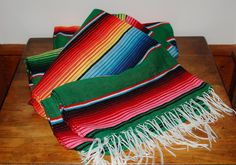 Mexican Serape Saltillo Western Style Blanket - SOLD! :)