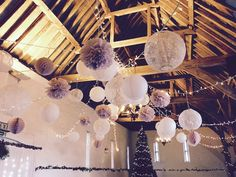 Gorgeous shot by #amblerevents in the barn at  @uftoncourt