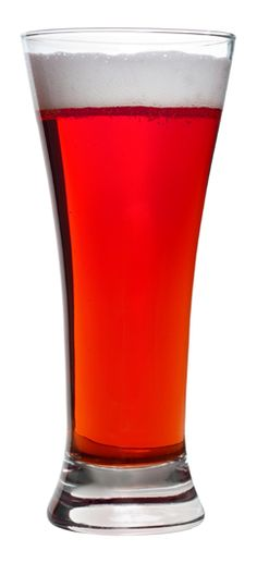 Red Velvet Ale; coloured exclusively through grain bill, featuring several specialty grains.