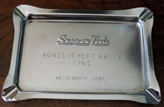 Snap-on Tools 1965 Achievement Award Thank You Dad, All Tools, Mechanic Tools, Garage Tools, Shops, Industrial, Awesome, Tents, Retail