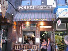 Josh rec: Pommes Frites, New York, NY