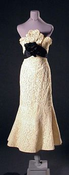Charles James for Samuel Winston Tango Evening Dress   American, 1952