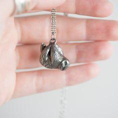 sloth necklace - le animalé