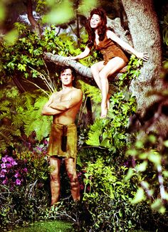 Rock Hudson as Tarzan and Doris Day as Jane (I have never seen this one, but Tarzan has always been a favorite of mine)