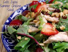 Mormon Mavens in the Kitchen: Cafe Zupas Summer Chicken Salad