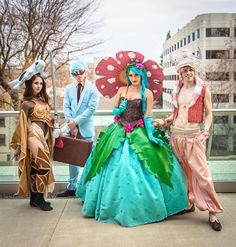 Cosplay Pokemon In Style With This Venesaur Ball Gown