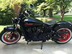 My Indian Scout Sixty