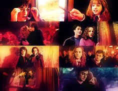Harry and Hermione Through the Years   Harry and Hermione Evolution        Harry Potter    Hermione Granger