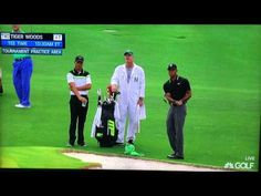 Tiger Woods & Jason Day Short Game Practice (2015 Masters) - YouTube